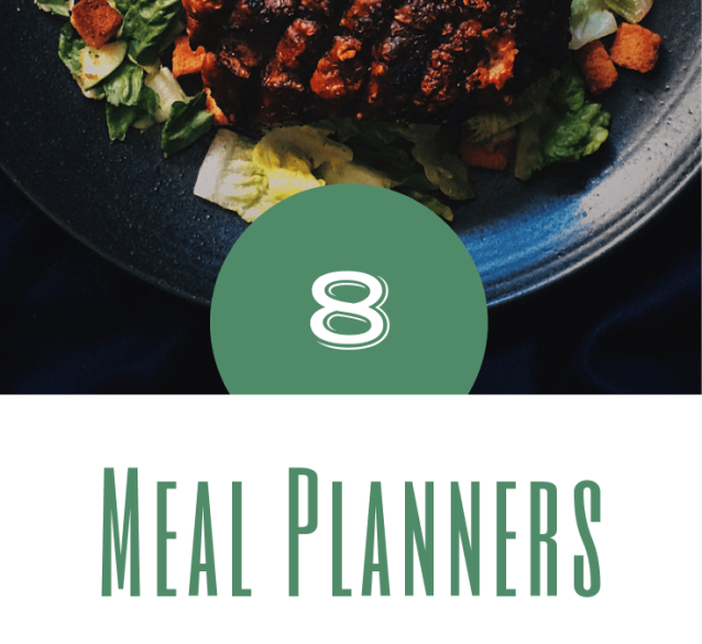 8 meal planners