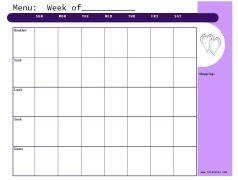 Lilac https://jonestn.myshopify.com/products/weekly-menu-planners