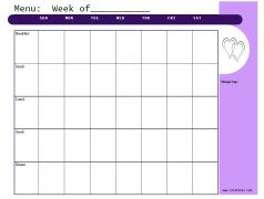 Lilac https://jonestn.myshopify.com/products/weekly-menu-planners