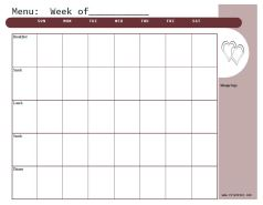 Mahogany https://jonestn.myshopify.com/products/weekly-menu-planners