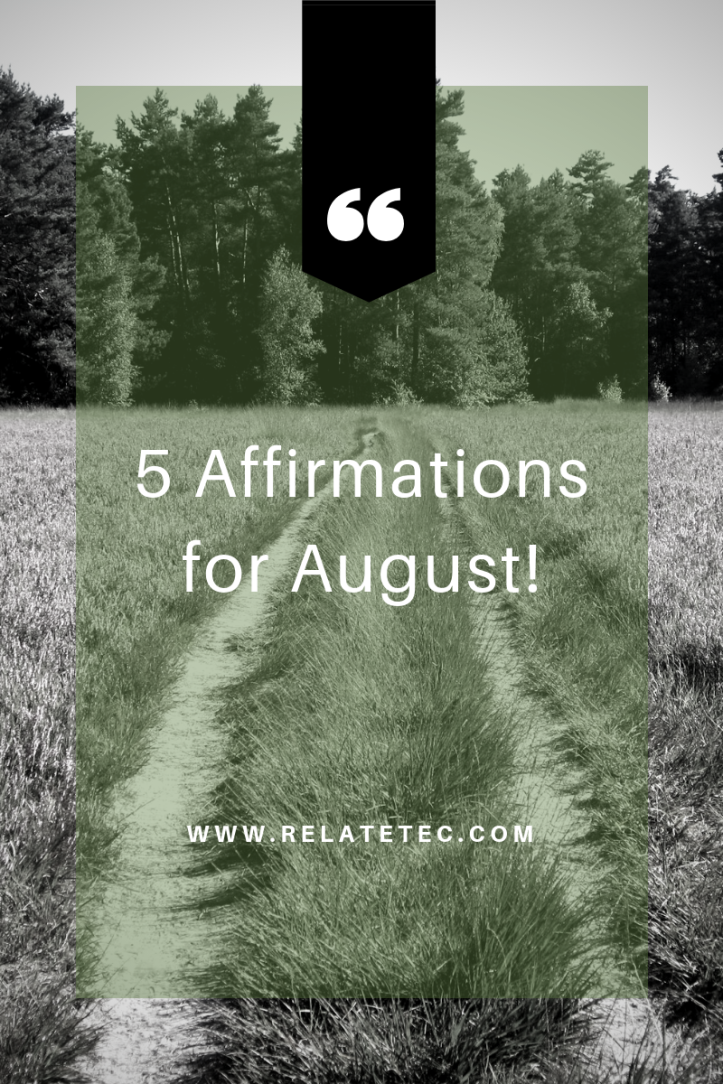 5 affirmations for october-7