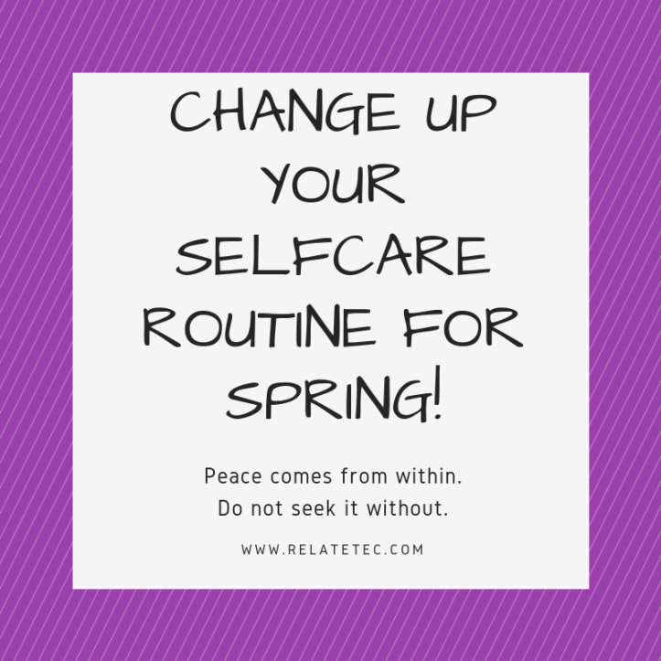 6 ideas to change up your winter selfcare routine